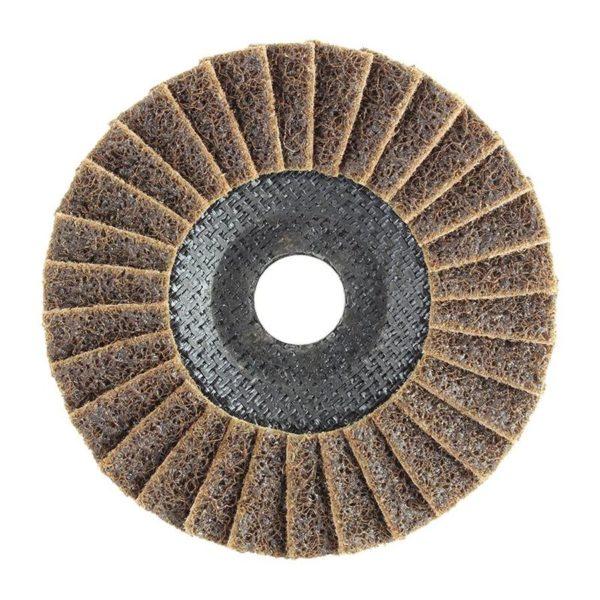 Norton Vortex Rapid Prep Surface Conditioning Flap Discs 115x22mm, Medium A, 10/Pack
