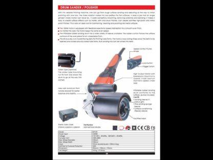CLEARANCE - DP100 DRUM SANDER KIT 230V