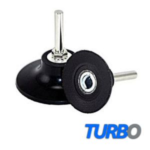 "Turbo 3"" (76mm) Roloc Disc Holder, 6mm Shank, Medium Density"