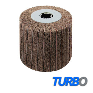 Turbo Interleaved Keyway Flap Wheel 110x100x19mm, 1/Pack